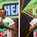 #14thHeadies: Bovi wears shirt in remembrance of LekkiMassacre to Headies award