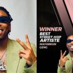 #14thHeadies: Mayorkun beats Naira Marley, Olamide, others to win the 'Best Street-Hop Artiste' award